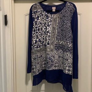 CHICOS TUNIC TOP